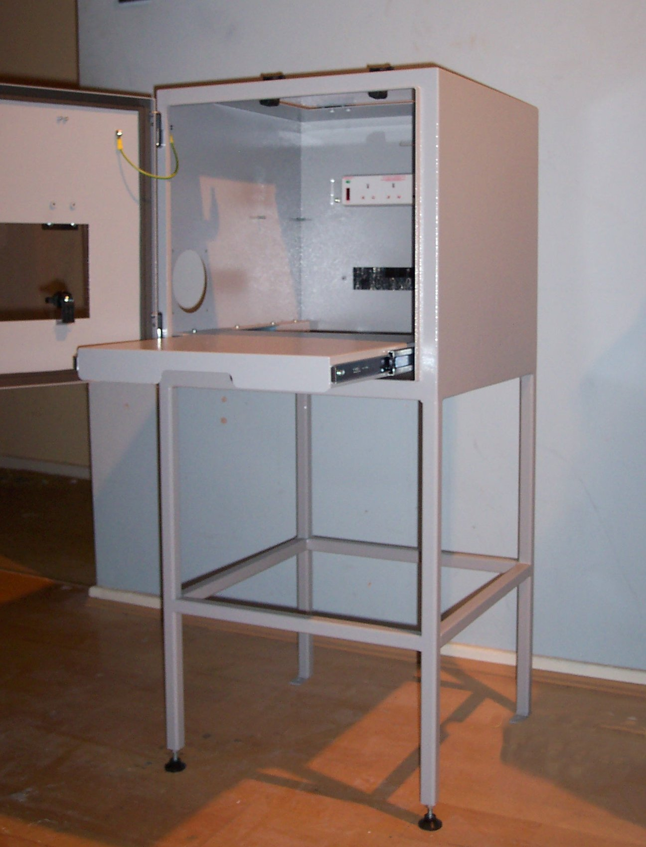 Open Printer enclosure
